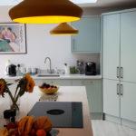 Duck egg kitchen