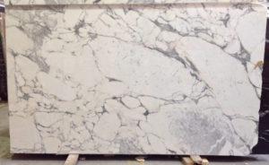 Arabescato marble slab Image
