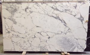 Arabescato marble slab
