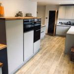 Dark tone kitchen