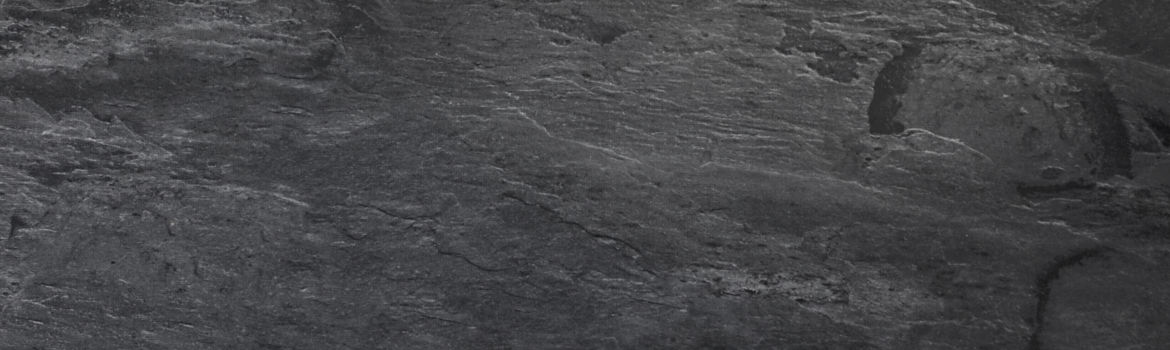 Close up of slate kitchen worktop
