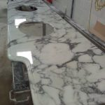 Arrabascata Marble vanity